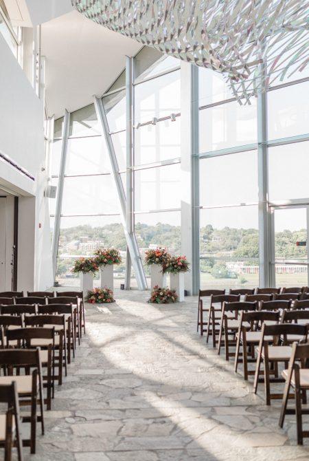 The Hunter Museum Fall Wedding Ceremony